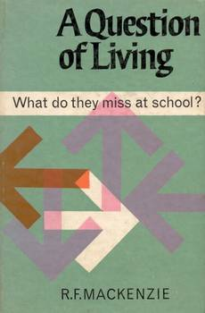 a question of living - book cover